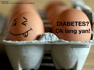 Diabetes awareness campaign using SoMe in the Philippines. (Photo credits to Dr. Iris Isip-Tan)