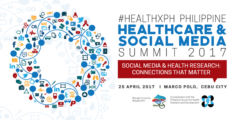 HealthXPh Philippine Healthcare Social Media Summit 2017